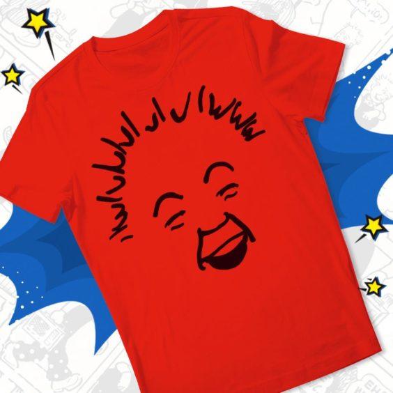 Minimalist Oor Wullie T-Shirt.