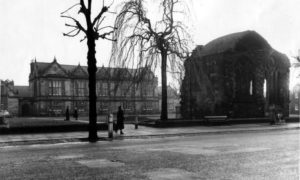 The South Street Madras College campus in 1953.