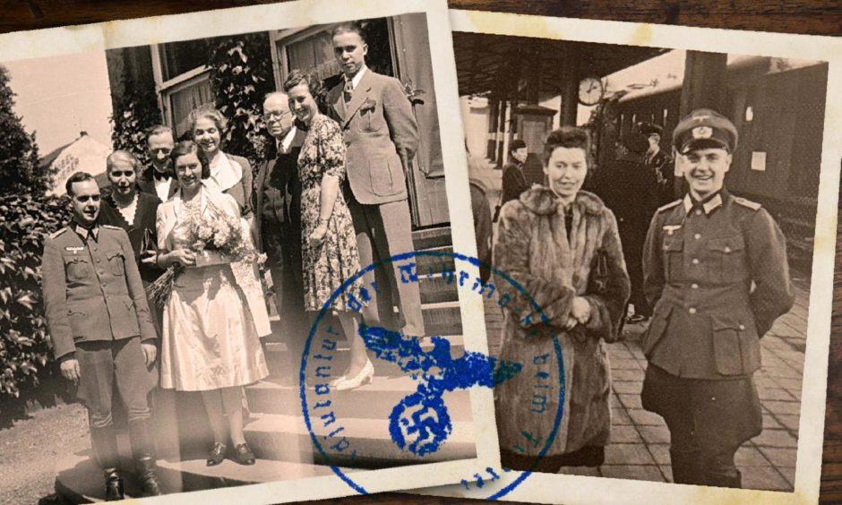Hitler sanctioned the wedding of Scots girl Margaret Dowie and Dr Karl Schreck
