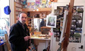 Martin Smith, known as artist Mick Livingstone.