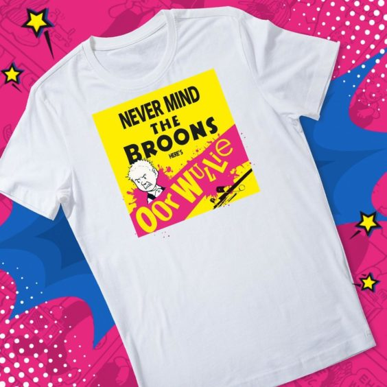 Never Mind the Broons, Here's Oor Wullie T-Shirt