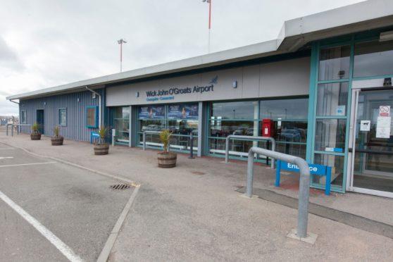 Wick John O'Groats Airport    Pics 17/04/2016 by Robert MacDonald
