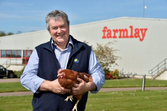 Farmlay Eggs managing director Robert Chapman.
