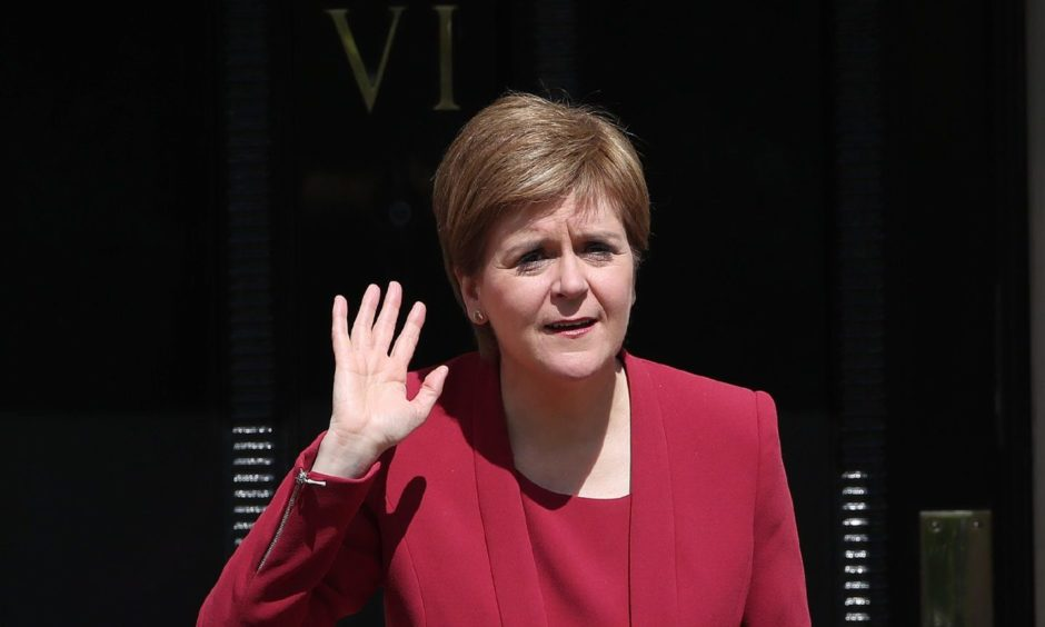 First Minister Nicola Sturgeon will make a covid statement.