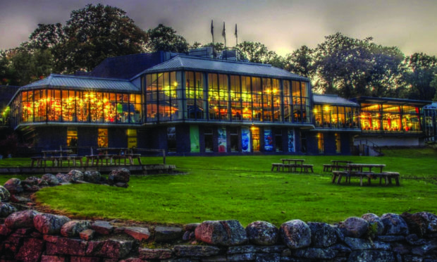 Pitlochry Festival Theatre, the theatre in the hills.