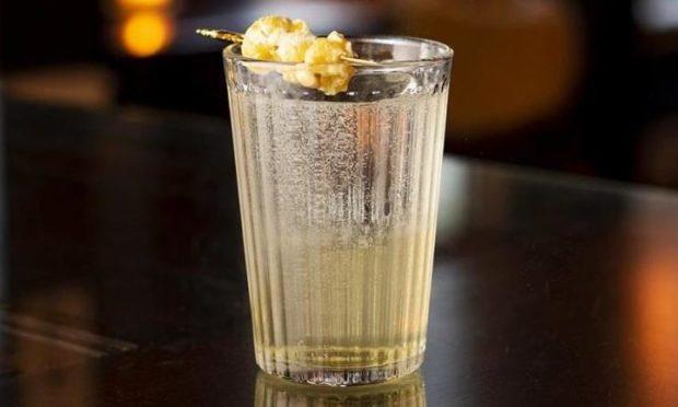 Mac-talla Terra whisky popcorn highball