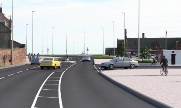 The junction near Gayfield Park will be part of the scheme.