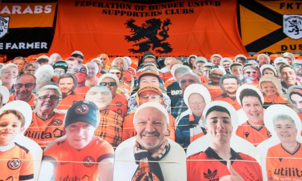 Dundee United fans have been locked out of Tannadice for over a year but are still keen to have their say on the club's next manager.