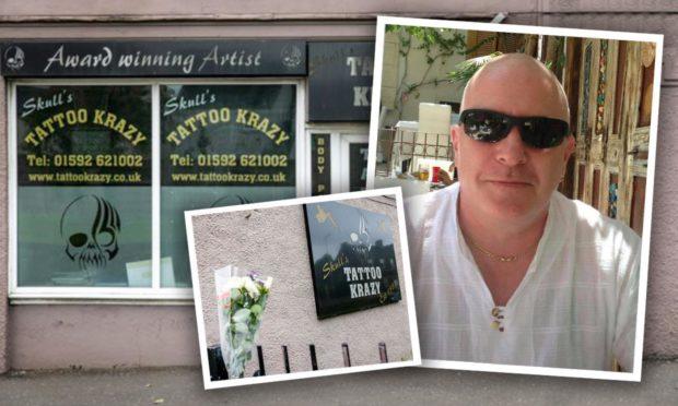 Ronnie 'Skull' Carroll was a popular tattoo artist from Fife.