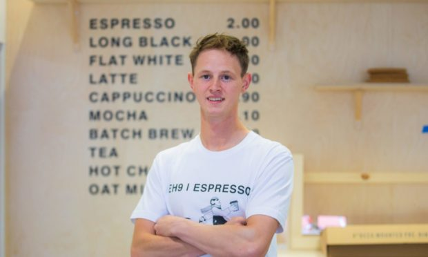 Fraser Smith is set to open his coffee shop EH9 Espresso in Dundee.