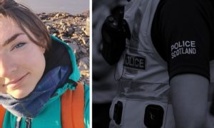 Missing walker Sarah Buick, from Broughty Ferry.