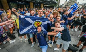 Thousands of fans have been pouring into London ahead of the crucial match.