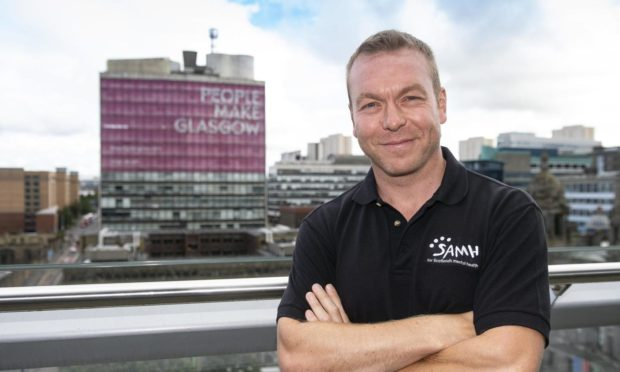 Sir Chris Hoy is backing the Feel Your Personal Best campaign
