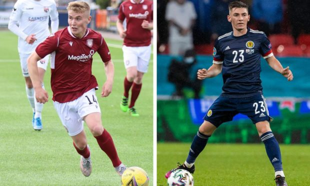 Arbroath star Dylan Paterson played in the same Rangers youth team as Billy Gilmour