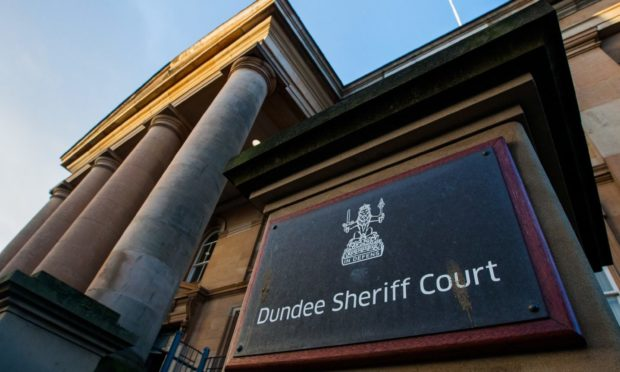 The outside of Dundee Sheriff Court.