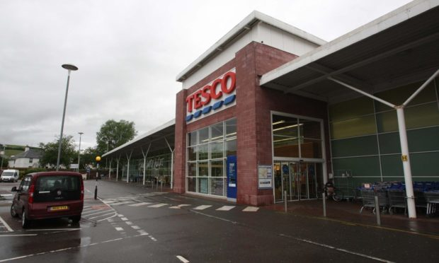 Tesco Dingwall locator. Picture: Andrew Smith