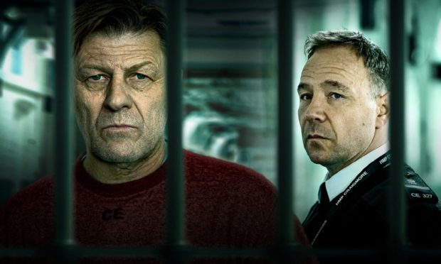 Mark Cobden (Sean Bean), Eric McNally (Stephen Graham) star in new BBC series, Time.