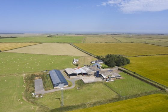 Wester Olrig Farm is for sale for offers over £1.5m.