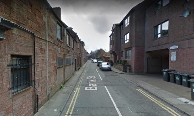 General view on Bank Street in Arbroath where police say the assault took place