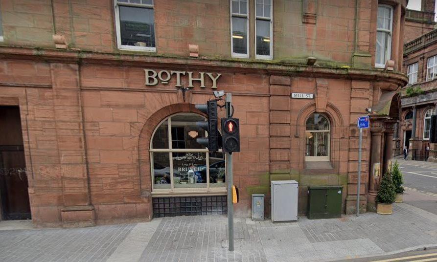 The Bothy Restaurant, Perth.