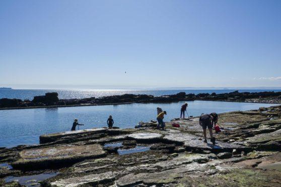 Cellardyke sea pool