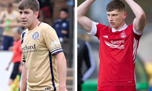 Mark Gallagher hopes to follow Jack MacKenzie from Forfar into the Aberdeen first team