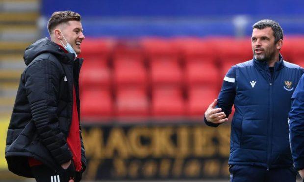 Callum Hendry catches up with Callum Davidson when Aberdeen played St Johnstone.