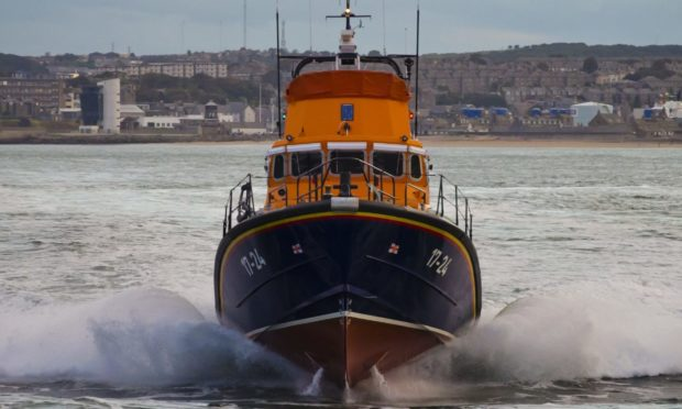 Lifeboats were part of the emergency operation