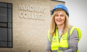 """Shelagh McLean: The new Madras College is """"absolutely right"""" for the school and community."""