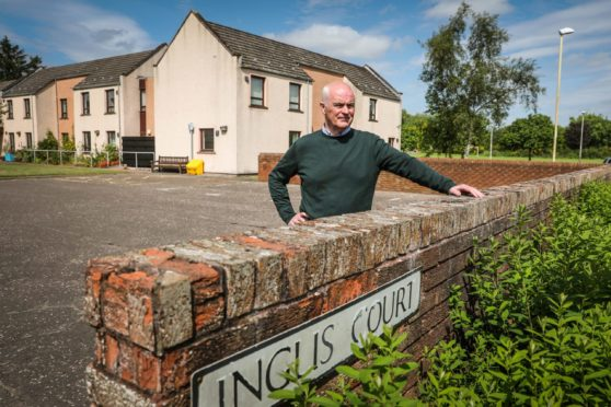 Mark Guild has offered £400,000 for Inglis Court in Edzell.