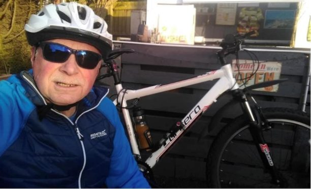 Christopher Chapman, whose distinctive bicycle may hold the key to his whereabouts.