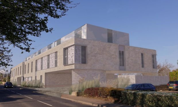 Councillors approved the hotel on Largo Road, St Andrews
