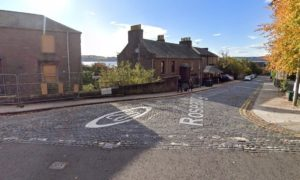 The crashes happened on Dundee's Roseangle.