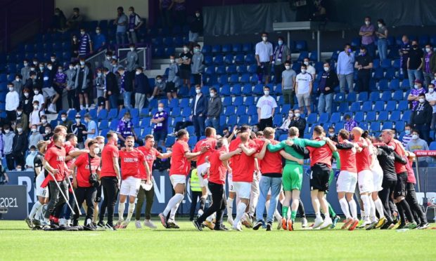 Ingolstadt celebrate promotion