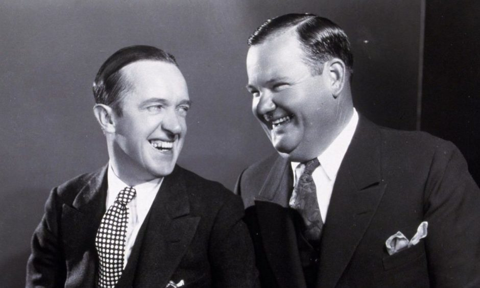 Laurel and Hardy became comedy legends when they got together.