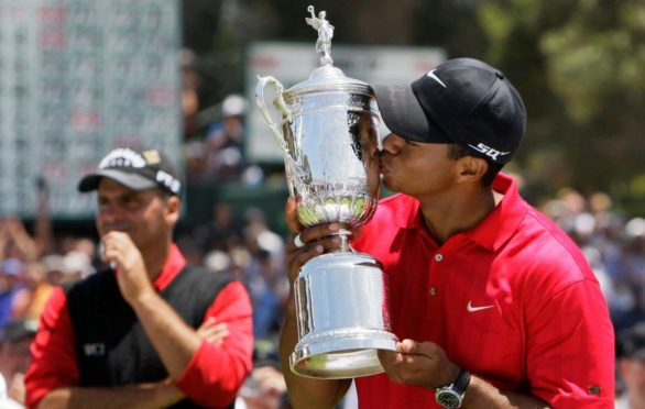 Tiger Woods won his 14th major - and last for 11 years - at Torrey Pines in 2008.