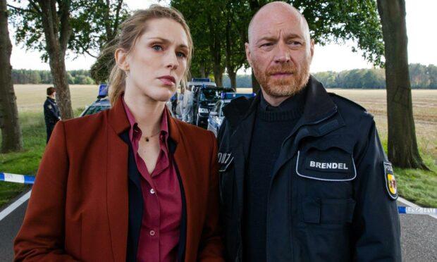The Nordic Murders: Ellen Norgaard (Rikke Lylloff) and Holm Brendel (Rainer Sellien)