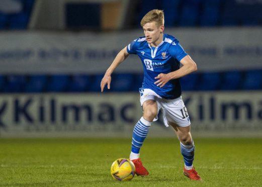St Johnstone midfielder Ali McCann is continuing to attract interest.