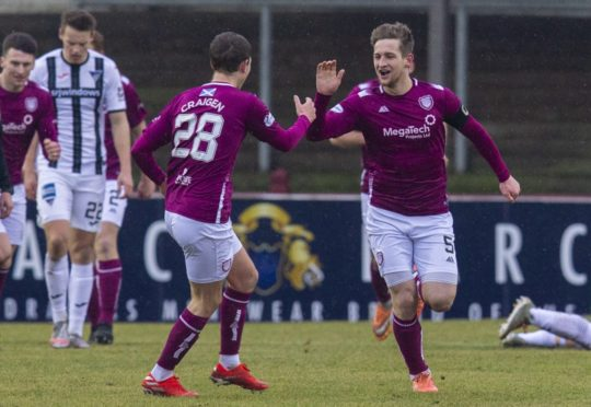 Arbroath are set to welcome back Tam O'Brien from injury