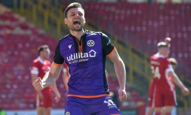 Dundee United defender Ryan Edwards.