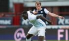 Mendy in action against Dundee