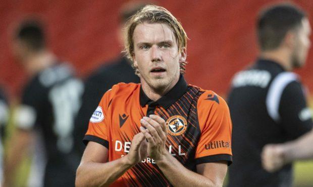 Dundee United defender Kieran Freeman.