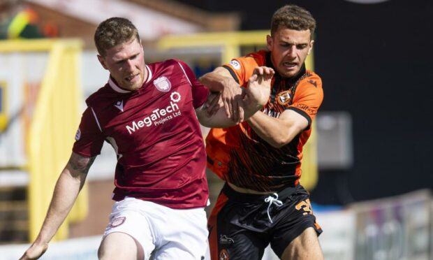 Arbroath star Colin Hamilton believes his side are on song this year
