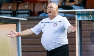 VIDEO: Dick Campbell admits Arbroath's Premier Sports Cup penalty winner against Kelty Hearts was 'soft'