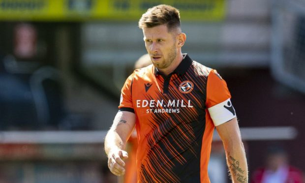 Dundee United midfielder Calum Butcher.