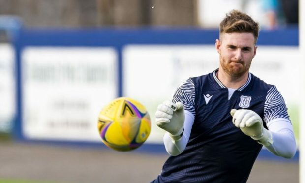 New Dundee signing Ian Lawlor.