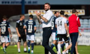 Dundee players deserve their shot at the Premiership for the way they handled themselves last season insists James McPake