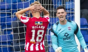 Ali McCann missed penalty means St Johnstone have to settle for 0-0 draw against Ross County