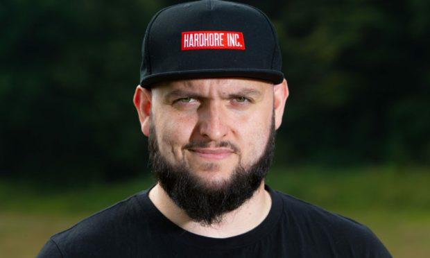 Mike Fletcher, founder of sustainable streetwear brand HardKore Inc.