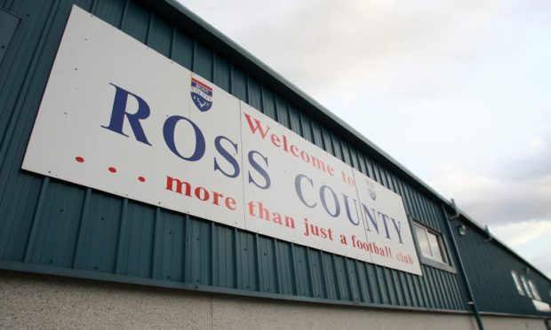 Ross County's ground Victoria Park.